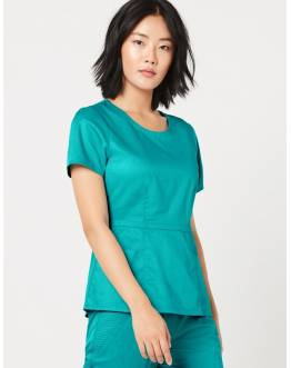 "Tunique Jaanuu ""Peplum Top"" Turquoise Collection Jolie"