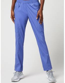 "Pantalon Jaanuu ""Moto Pant"" Bleu Ciel Collection Jolie"