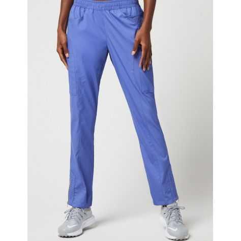 """Pantalon Jaanuu """"Moto Pant"""" Bleu Ciel Collection Jolie"""