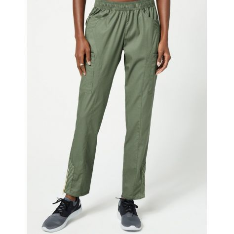 "Pantalon Jaanuu ""Moto Pant"" Olive Collection Jolie"