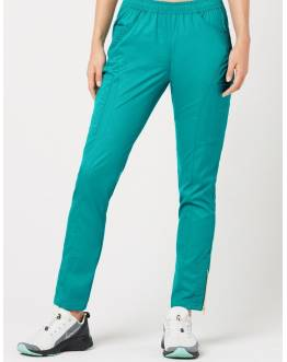 "Pantalon Jaanuu ""Moto Pant"" Turquoise Collection Jolie"