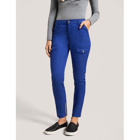 "Pantalon Jaanuu ""Skinny Cargo Pant"" Bleu Galaxy Collection Jolie"
