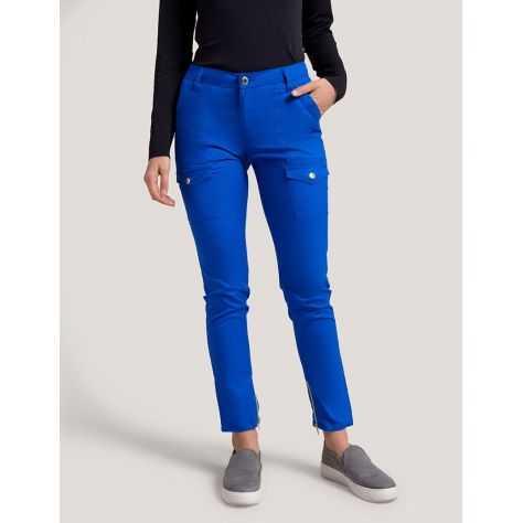 """Pantalon Jaanuu """"Skinny Cargo Pant"""" Bleu Royal Collection Jolie"""