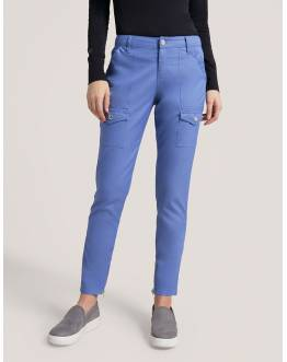 "Pantalon Jaanuu ""Skinny Cargo Pant"" Bleu Ciel Collection Jolie"