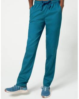 "Pantalon Jaanuu ""Skinny Pant"" Bleu Caraibe Collection Jolie"