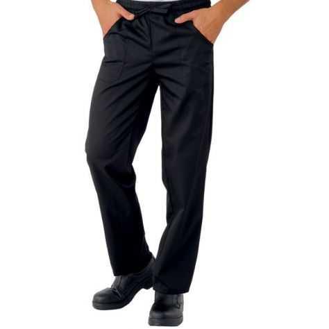 Pantalon noir Bohème 100% Polyester
