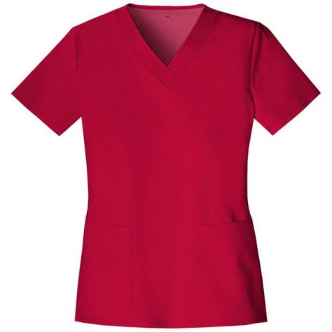 Tunique Medicale Cherokee Luxe Femme Rouge 1845