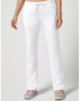 "Pantalon ""Straight Leg 4 Pocket Pant"" Blanc Collection Classic"