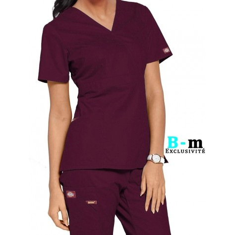 Tunique Femme Bordeaux Dickies 86806