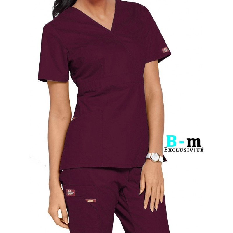 tunique dickies pas cher femme 86806 bordeaux chez blouse medicale fr. Black Bedroom Furniture Sets. Home Design Ideas