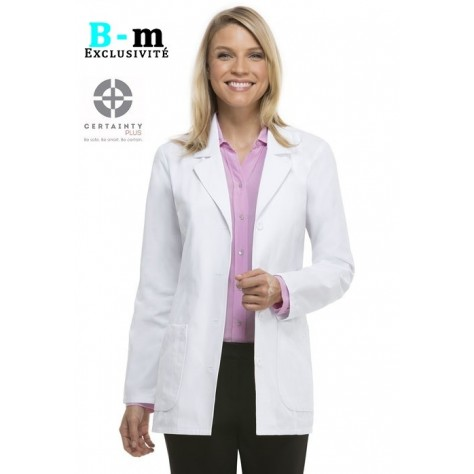 Blouse Medicale Dickies Unisexe Blanc 84405AB