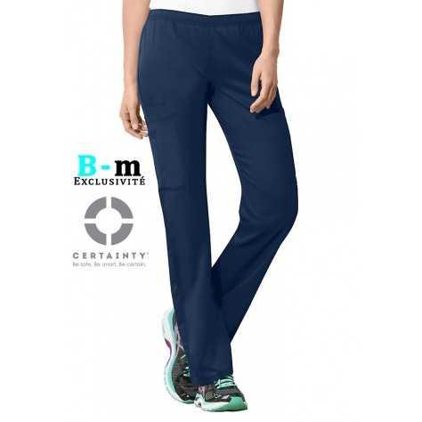 Pantalon Medical Cherokee Antimicrobien Femme Bleu Marine 44200A