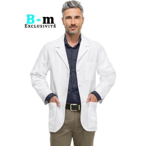 Blouse Medicale Cherokee Homme Blanc 1389