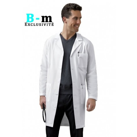 Blouse Medicale Cherokee Homme Blanc 1388
