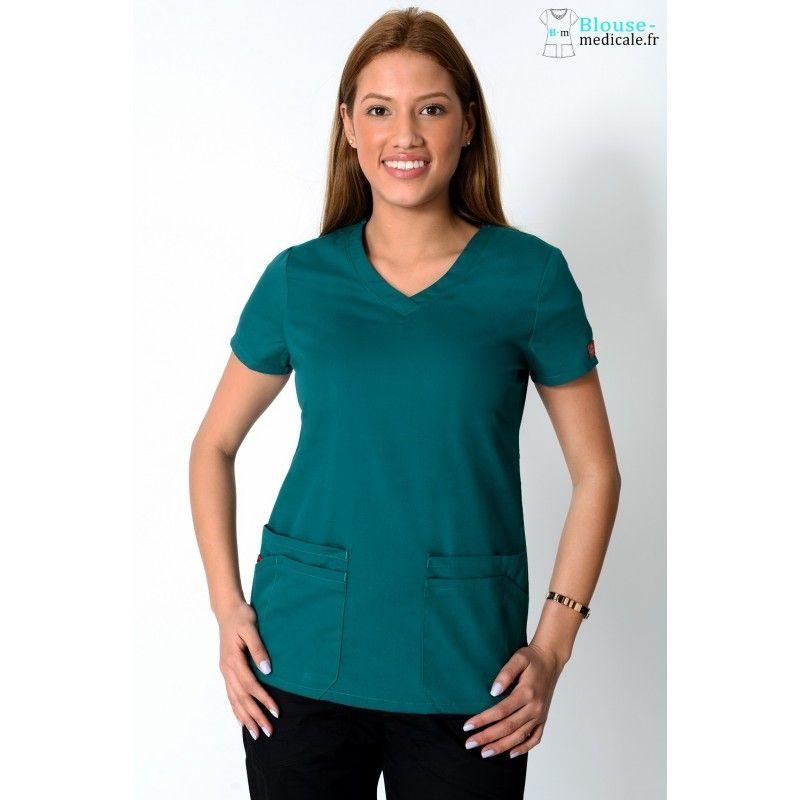 Tunique medicale Dickies 85906 vert