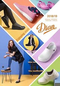 catalogue DIAN chaussures professionnelles