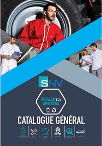 Catalogue SNV fabricant vetement médicaux
