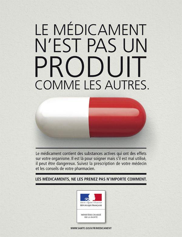 Campagne Publicitaire Gouvernement Medicament