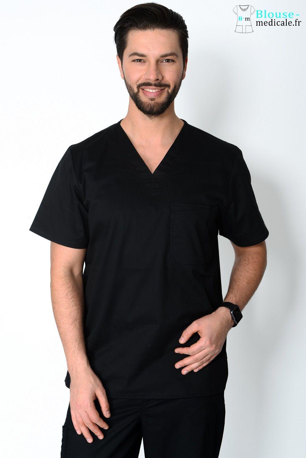 blouse medicale homme couleur cherokee noir