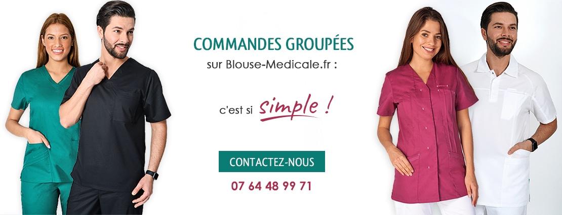 Achat groupé vêtements médicaux
