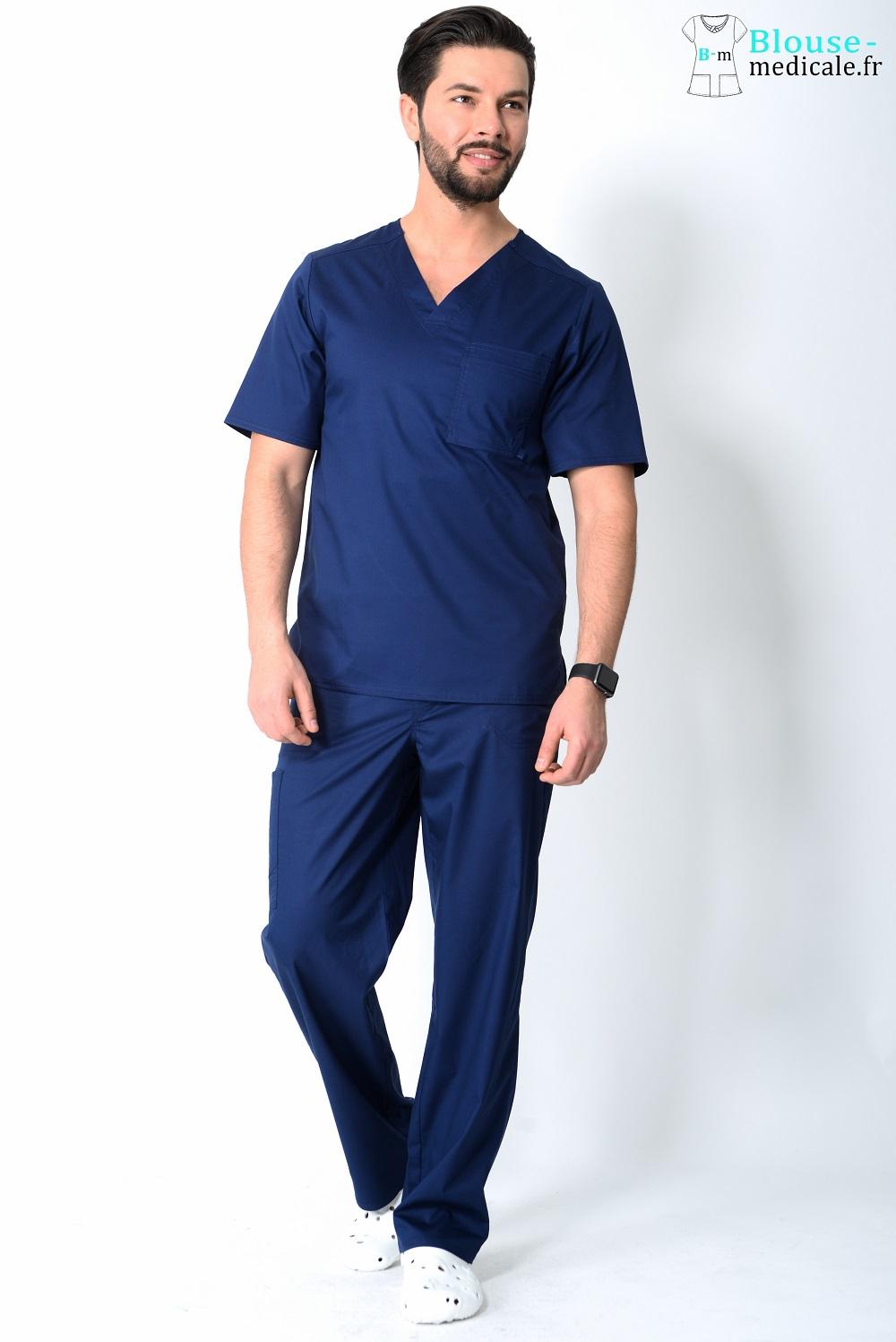 tenue médicale homme