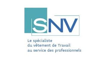 marque francaise de vetements pro SNV