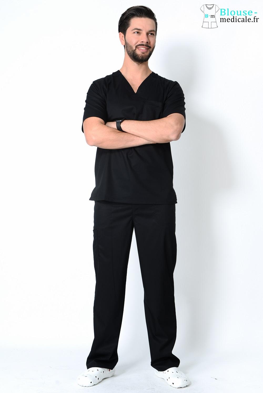 tenue médicale homme couleur cherokee tenue kiné homme luxe