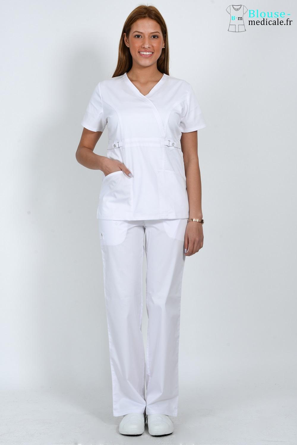 tenue médicale femme cherokee luxe tenue medicale femme blanc