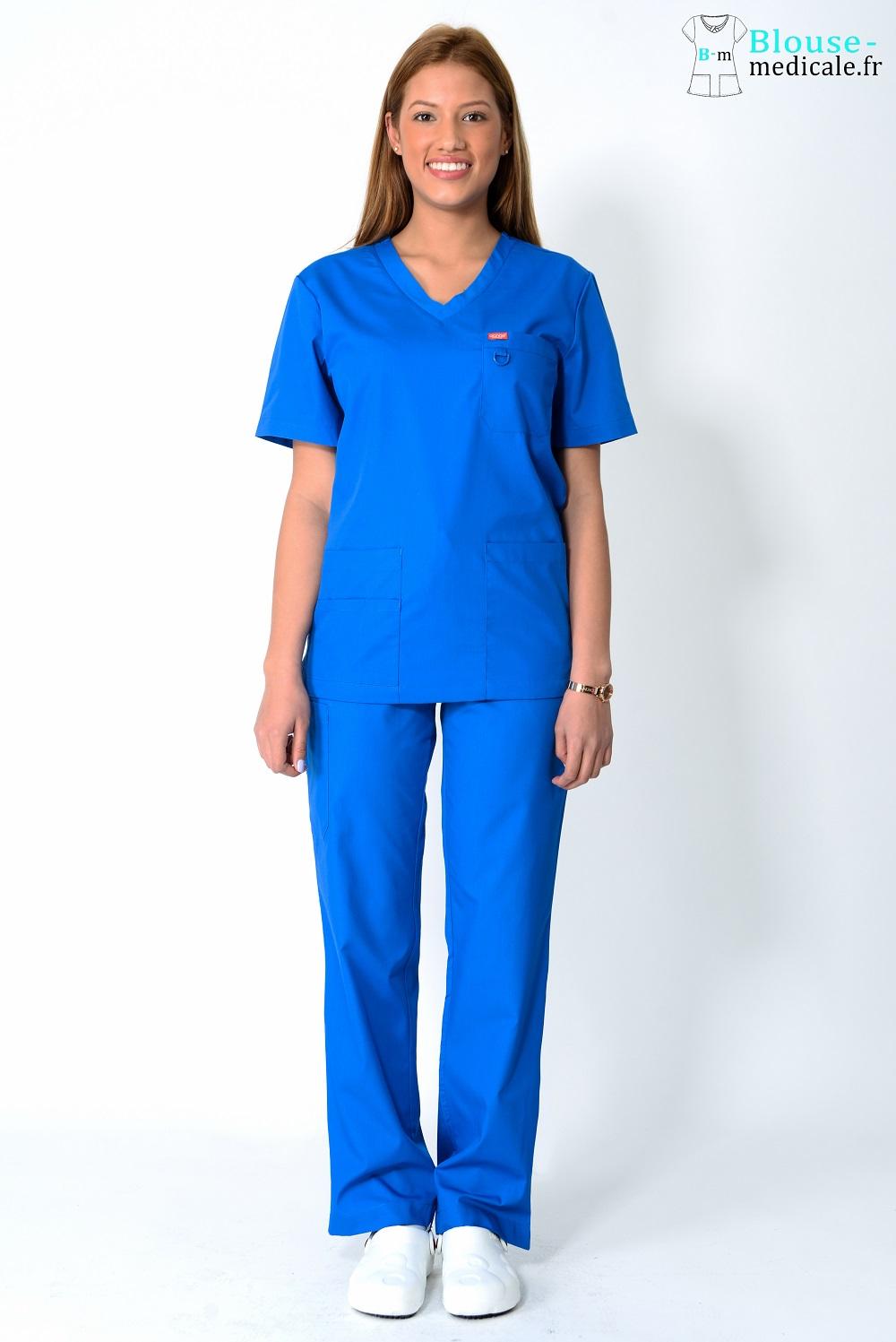 tenue médicale femme orange tenue équipe soignante