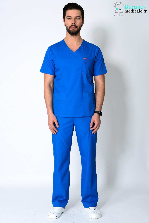 tenue médicale unisexe tenue equipe medicale couleur homme