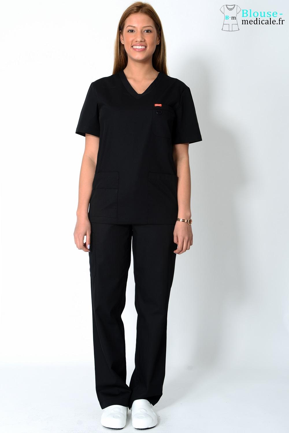 tenue médicale femme orange pas cher blouse médicale femme