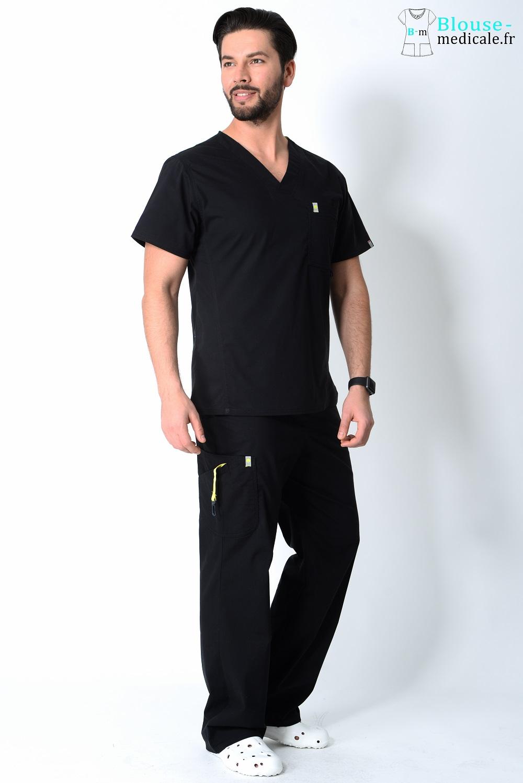 tenue médicale homme couleur tenue dentiste homme haut de gamme