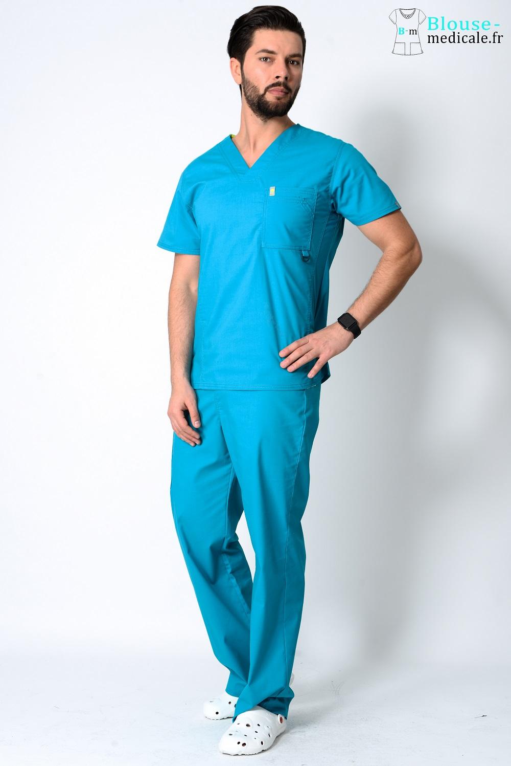 tenue médicale homme couleur tenue ostéo homme haut de gamme